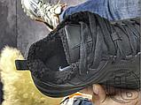 Мужские кроссовки Nike M2K Tekno Triple Black (с мехом) AO3108-012, фото 5