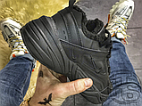 Мужские кроссовки Nike M2K Tekno Triple Black (с мехом) AO3108-012, фото 6