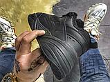 Мужские кроссовки Nike M2K Tekno Triple Black (с мехом) AO3108-012, фото 7