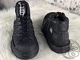 Женские кроссовки Adidas Mastodon Pro Model Rick Owens Triple Black BA9763, фото 3