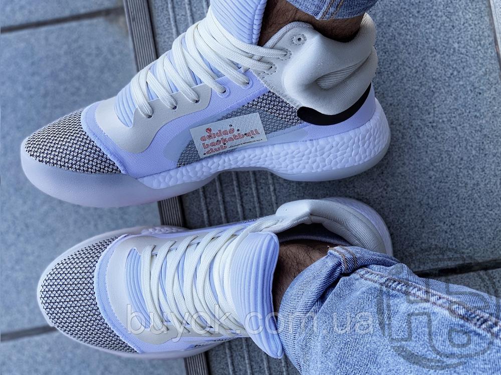 Чоловічі кросівки Adidas Marquee Boost White Grey G28978