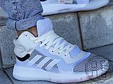 Чоловічі кросівки Adidas Marquee Boost White Grey G28978, фото 3