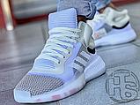 Чоловічі кросівки Adidas Marquee Boost White Grey G28978, фото 5
