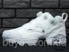 Женские кроссовки Reebok InstaPump Fury All White AR2199
