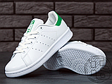 Чоловічі кросівки Adidas Stan Smith White/Green M20324, фото 4