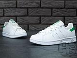Чоловічі кросівки Adidas Stan Smith White/Green M20324, фото 5
