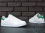 Чоловічі кросівки Adidas Stan Smith White/Green M20324, фото 7