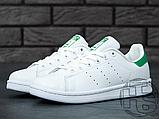 Чоловічі кросівки Adidas Stan Smith White/Green M20324, фото 8