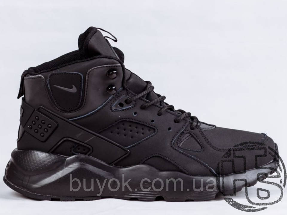 Мужские кроссовки Nike Air Huarache Winter Black