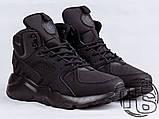 Мужские кроссовки Nike Air Huarache Winter Black, фото 2
