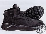 Мужские кроссовки Nike Air Huarache Winter Black, фото 3