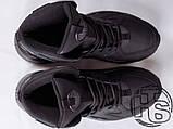 Мужские кроссовки Nike Air Huarache Winter Black, фото 4