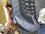 Чоловічі кросівки Nike Air Max 95 Sneakerboot Anthracite Volt 806809-003, фото 5