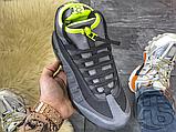 Чоловічі кросівки Nike Air Max 95 Sneakerboot Anthracite Volt 806809-003, фото 7
