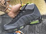 Чоловічі кросівки Nike Air Max 95 Sneakerboot Anthracite Volt 806809-003, фото 8