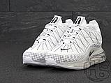 Чоловічі кросівки Nike Air Max 720-818 Triple White, фото 2