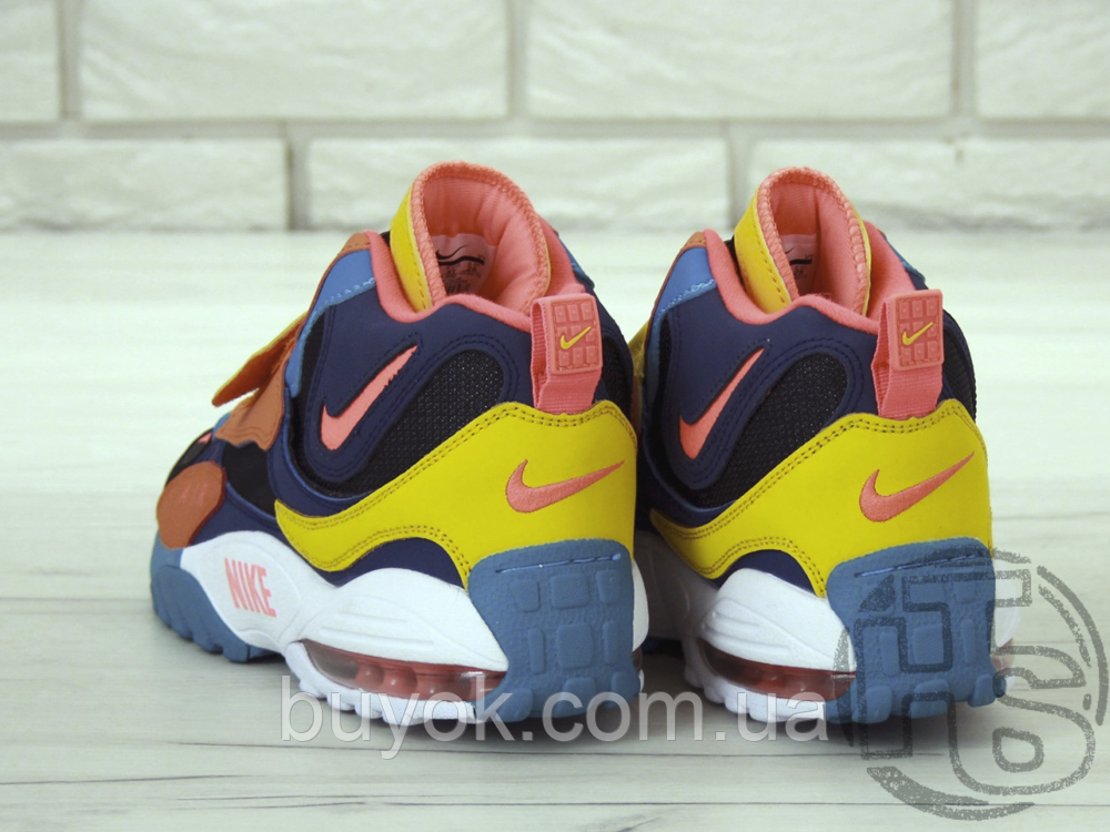 Мужские кроссовки Nike Air Max Speed Turf Multicolor Green/Blue-Yellow-Red BQ9632-300