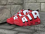 Женские кроссовки Nike Air More Uptempo University Red/Black/White CD9403-600, фото 3