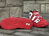 Женские кроссовки Nike Air More Uptempo University Red/Black/White CD9403-600, фото 4
