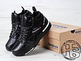 Мужские кроссовки Reebok GL6000 High-Top Winter Black 42, фото 2