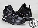 Мужские кроссовки Reebok GL6000 High-Top Winter Black 42, фото 6