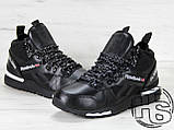 Мужские кроссовки Reebok GL6000 High-Top Winter Black 42, фото 8