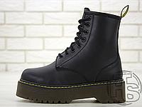 Женские ботинки Dr.Martens Jadon Black Boots (с мехом)
