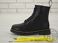 Женские ботинки Dr Martens Fur Lined 1460 Serena Black (с мехом)