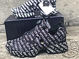 Женские кроссовки Reebok Instapump Fury Vetements Emoji Black/White 181669M, фото 2