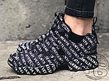 Женские кроссовки Reebok Instapump Fury Vetements Emoji Black/White 181669M, фото 8
