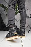 Мужские ботинки UGG David Beckham Boots Black (мужские Угг Дэвид Бекхем Ботинки Черные), фото 2