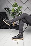Мужские ботинки UGG David Beckham Boots Black (мужские Угг Дэвид Бекхем Ботинки Черные), фото 3