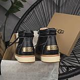 Мужские ботинки UGG David Beckham Boots Black (мужские Угг Дэвид Бекхем Ботинки Черные), фото 4