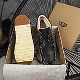 Мужские ботинки UGG David Beckham Boots Black (мужские Угг Дэвид Бекхем Ботинки Черные), фото 5