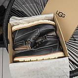 Мужские ботинки UGG David Beckham Boots Black (мужские Угг Дэвид Бекхем Ботинки Черные), фото 6