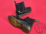 Женские ботинки Dr Martens Chelsea 2976 Yellow Stitch Black 22227001, фото 2