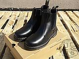 Женские ботинки Dr Martens Chelsea 2976 Yellow Stitch Black 22227001, фото 4