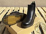 Женские ботинки Dr Martens Chelsea 2976 Yellow Stitch Black 22227001, фото 6