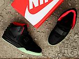 Мужские кроссовки Nike Air Yeezy 2 Black/Solar Red 508214-006, фото 6