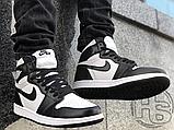 Чоловічі кросівки Air Jordan 1 Retro High Twist Black White CD0461-007, фото 4