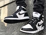 Чоловічі кросівки Air Jordan 1 Retro High Twist Black White CD0461-007, фото 7