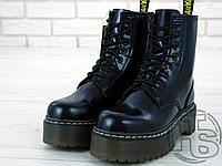 Женские ботинки Dr.Martens Jadon Black Polished Smooth Boots 15265001