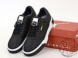Мужские кроссовки Puma Cali Black White 369155-03, фото 2