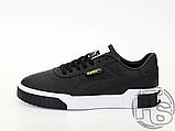 Мужские кроссовки Puma Cali Black White 369155-03, фото 5