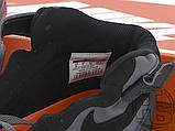 Чоловічі кросівки Nike Air Force 1 Mid Lava Hot Grey Black Red 315123-031, фото 6