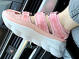 Женские сандалии Versace Chain Reaction Sandal Pink White, фото 2