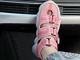 Женские сандалии Versace Chain Reaction Sandal Pink White, фото 3