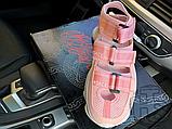 Женские сандалии Versace Chain Reaction Sandal Pink White, фото 5