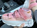 Женские сандалии Versace Chain Reaction Sandal Pink White, фото 7