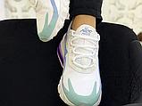 Жіночі кросівки Nike Air Max 270 React Gradient Shift White/Blue-Purple AT6174-102, фото 4